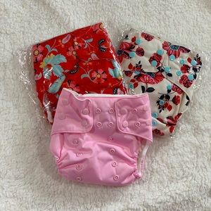 Other - Awesome Blossom Cloth Diapers (3)